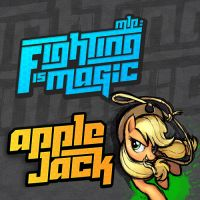Fighting is Magic Soundtrack Album Art - Applejack by smokeybacon