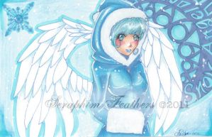 Snow Angel by SeraphimFeathers
