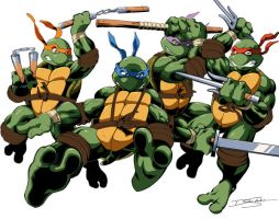 Teenage Mutant Ninja Turtles 2 by Y2Dane