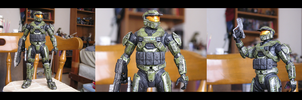Master Chief - final overhaul by action-figure-opera