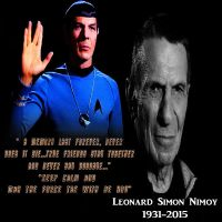 Mr.Spock Tribute 2015 by yugioh1985