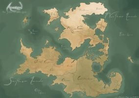 The Souther and Norther Lands by Vhu