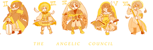 The Angelic Council by Rosiana