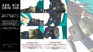 MMD WIP - Miku Sneaking Suit - 03-08-2014 by CrazyDave55811