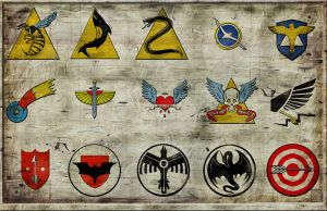 Insignias for flying Forces by FirstKeeper