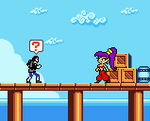 Anthony meets Shantae by blackevil915