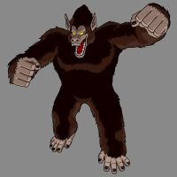 Jens Great Ape by JensTheSaiyan