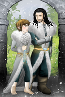 Thilbo- dwarven wedding in Erebor by Kiri-Yami