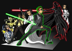 TBBT Star Wars by ADL-art