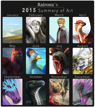 2015 Summary Of Art by Raironu
