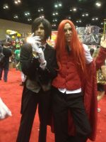 Megacon 2012 Cosplay, Grell Sutcliff and Sebastian by DJ-Zemar