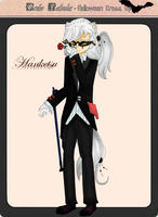 Fabula Halloween Dress Up - Hanketsu by MaryEclipse