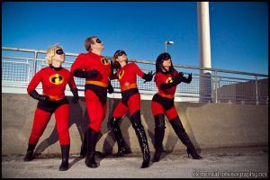 The Incredibles by Ravenspiritmage
