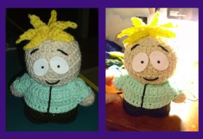 Crocheted Butters by JaimeNWester