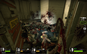 Left 4 Dead 2 map DC Barns by kingsess