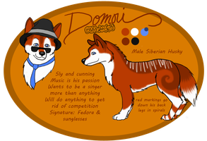 Domori: Siberian Husky by breathewithyou