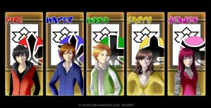 Shinkenger fanart 2 by V-hunt