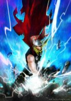 Thor by Haining-art