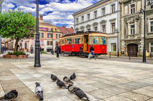 Stationary Tramcar by marrciano