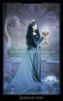 Queen of Cups by ThelemaDreamsArt