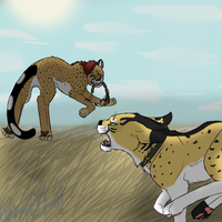 Commish: Catch Me If You Can by Pamuya-Blucat