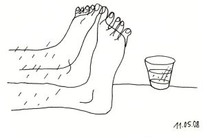 feet on table by tuzzz