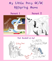 .:MLP: Lord CadaverXMorning Star Offspring Meme:. by Goddess-of-BUTTSECKS