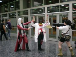 ACK! Kill 'em! Dante and Lady by SidneyVons