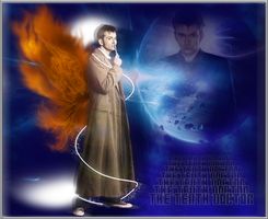 Dr Tennant in space by Vanessa28