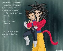 Goku's liable to rape Vegeta by dragonballdeviants