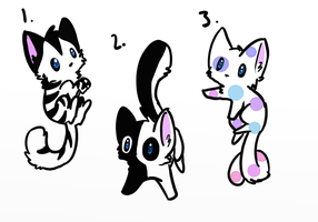 Kitty Adopts (4 Points Each) ~ OPEN by AmyLovesPenguins