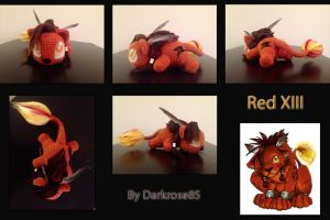 Red XIII (Nanaki) by Darkrose85