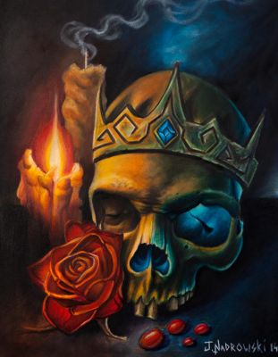 Kings Skull by JakubNadrowski