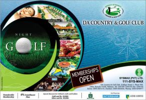 DA Country Golf Club Corp Ad by creavity