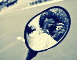 Rear-view mirror by duhi