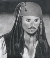 Jack Sparrow by marker21