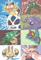 Pokemon Art Cards vol. 1 by DarkPoinko