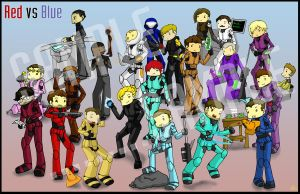 Red vs Blue Compilation by Marli