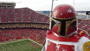 Kansas City Chiefs Boba Fett by Osmethae