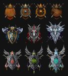 Crests set by Hofarts