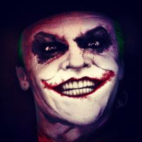 The Joker Digital Colour by Steve-Nice