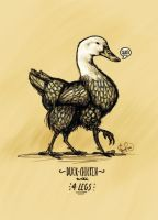 Four-Legged Duck-Chicken by Goose-of-Stature