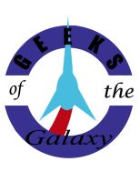 Commission: Geeks of the Galaxy Logo by JamesSteiner
