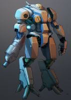 concept of mecha by TeriyakiStyle