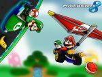 Mario Kart 8 by SuperLakitu