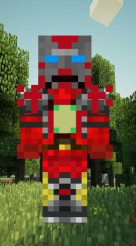 minecraft  skins : sute from by techno103
