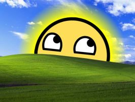Awesomefaced Windows by Serede