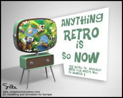 Retro TV by silke3d