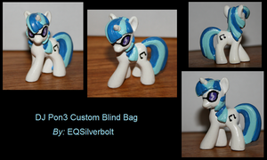DJ Pon3 Custom Blind Bag by EQSilverbolt