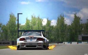 BMW M3 E92 GT2 at Sebring by ZowLe